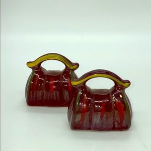 Other - Vintage Medical Bags Salt and Pepper Shakers